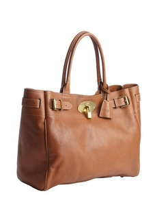 Mulberry brown buffalo leather 'Bayswater' tote