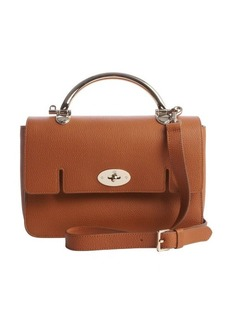Mulberry brown grained leather 'Bayswater' crossbody bag