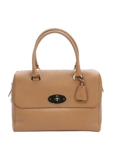 Mulberry brown leather 'Del Rey' top handle bag