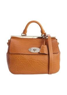 Mulberry ginger embossed leather 'Suffolk' small crossbody bag