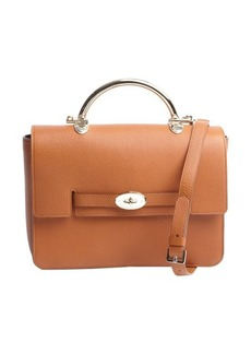Mulberry ginger grained leather 'Bayswater' crossbody bag