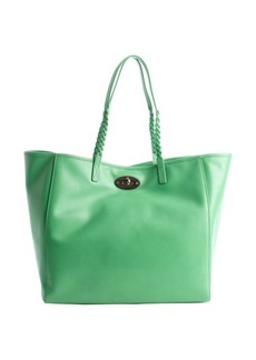 Mulberry green leather 'Dorset' medium tote