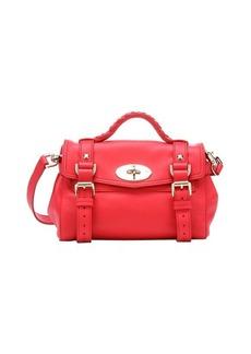 Mulberry hibiscus pink leather 'Alexa' mini convertible satchel