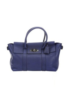 Mulberry indigo leather 'Bayswater Buckle' tote bag