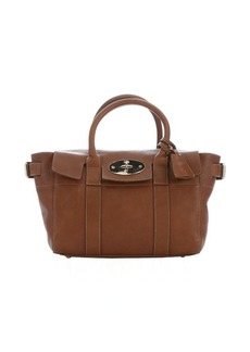 Mulberry oak leather 'Bayswater Buckle' small tote bag