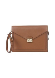 Mulberry oak leather 'Kensal' crossbody envelope shoulder bag