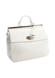 Mulberry off white leather 'Suffolk' convertible shoulder bag
