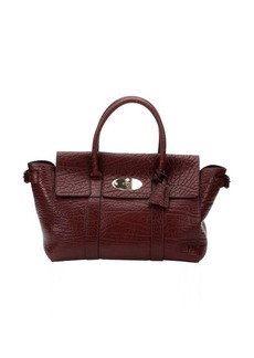 Mulberry oxblood leather 'Bayswater Buckle' tote bag