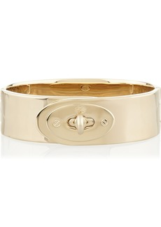 Mulberry The Bayswater gold-plated bracelet