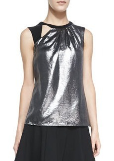 All Nighter Metallic Sleeveless Top   All Nighter Metallic Sleeveless Top