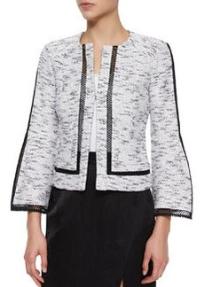 Graphic Tweed Jacket   Graphic Tweed Jacket
