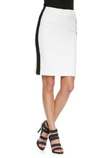 La Musica Skirt with Contrast Trim   La Musica Skirt with Contrast Trim