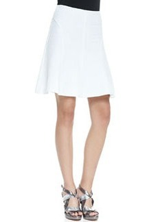 Love Chase A-Line Pique Skirt   Love Chase A-Line Pique Skirt