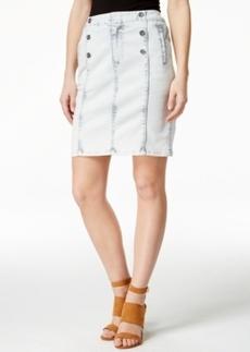 Nanette by Nanette Lepore Ahoy Sailor Cloud Wash Denim Skirt