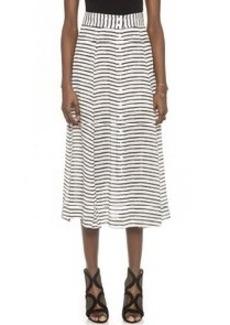 Nanette Lepore Au Revoir Silk Skirt