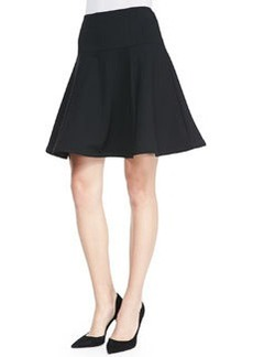 Nanette Lepore Author Jersey Flared Skirt