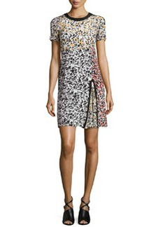 Nanette Lepore Barcelona Babe Mixed-Print Dress