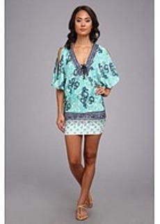 Nanette Lepore Batiki Print Tunic Cover Up