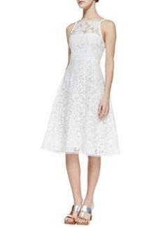Nanette Lepore Beach Breeze Lace Sleeveless Dress, White