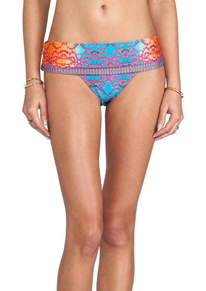 Nanette Lepore Bejeweled Dreamer Bikini Bottom in Blue