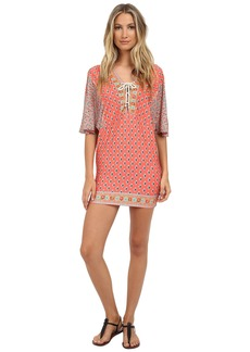 Nanette Lepore Bindi Covers Tunic Cover-Up