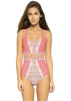 Nanette Lepore Bindi Goddess One Piece