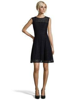 Nanette Lepore black eyelet 'Fool For Love' a-line dress