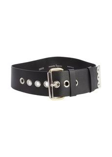 Nanette Lepore black leather 'Dakota' belt
