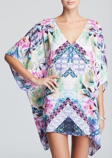 Nanette Lepore Bollywood Caftan Swim Cover Up