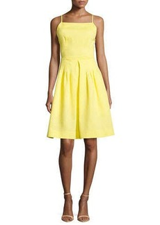 Nanette Lepore Brigitte Crisscross-Back Dress, Sunburst