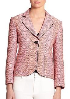 Nanette Lepore Brocade Discover Blazer