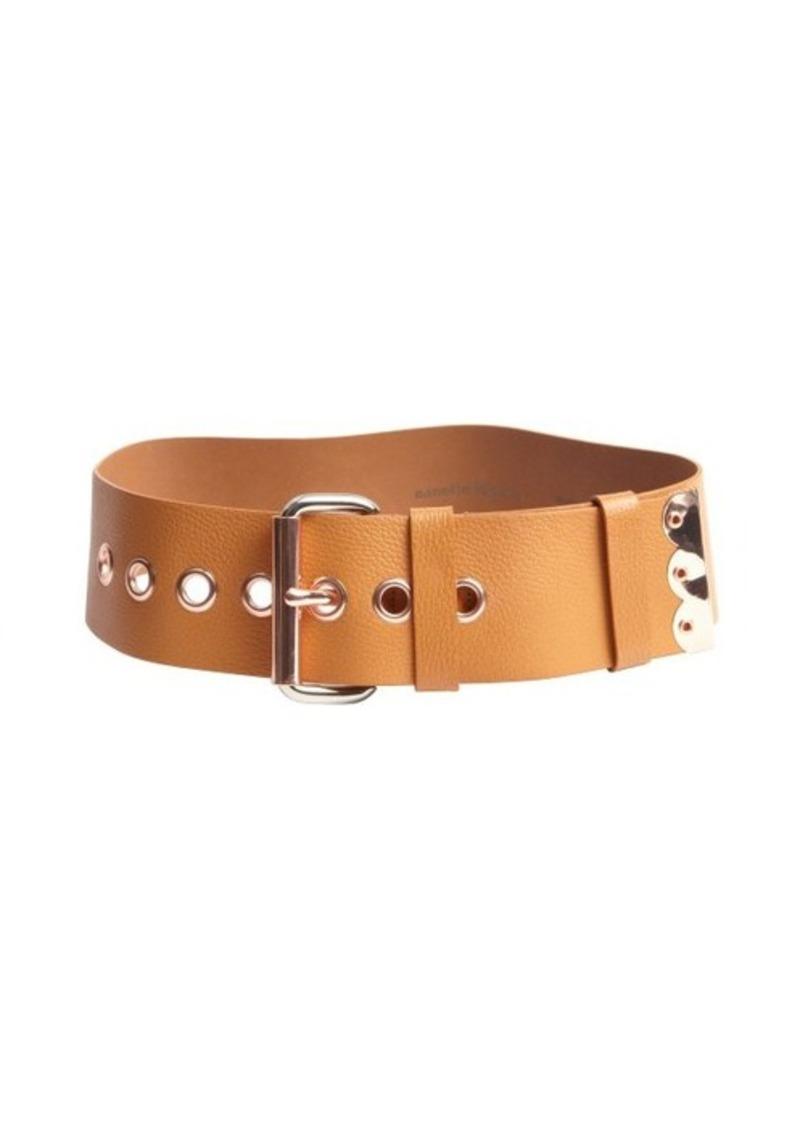 Nanette Lepore brown leather 'Dakota' belt