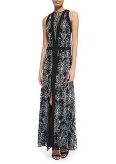 Nanette Lepore Byzantine Sleeveless Baroque-Print Dress