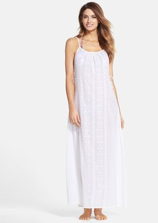Nanette Lepore 'Calcutta' Cotton Voile Cover-Up Maxi Dress