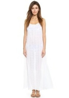 Nanette Lepore Calcutta Maxi Dress with Embroidery