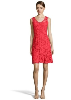 Nanette Lepore campari lace 'Husband Hunter' sleeveless dress