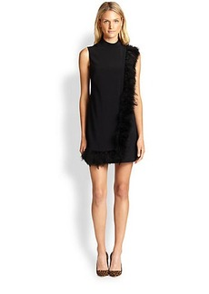 Nanette Lepore Cape Dress