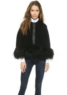 Nanette Lepore Captivating Fur Cape