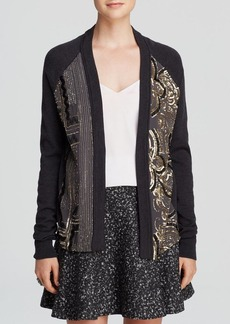 Nanette Lepore Cardigan - Wool Beaded