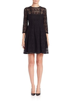 Nanette Lepore Coffeehouse Lace Dress