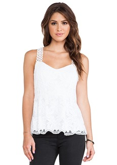 Nanette Lepore Conga Top in White