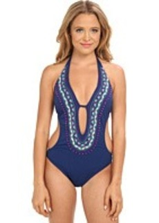 Nanette Lepore Costa Del Sol Seductress Monokini One-Piece