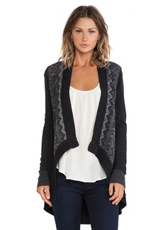 Nanette Lepore Cross Examine Cardigan in Black