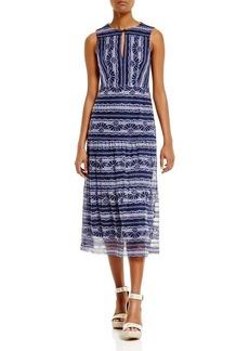 Nanette Lepore Dewdrop Lace Midi Dress