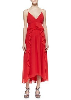Nanette Lepore Dreamer High-Low Ruffle Dress