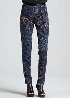 Nanette Lepore Exotic Mystical Printed Pants