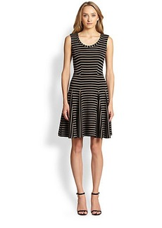 Nanette Lepore Fair Game Fit & Flare Dress
