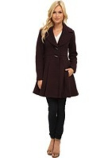 Nanette Lepore Flare & Toggle Coat