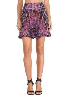 Nanette Lepore Flippy Weave Skirt