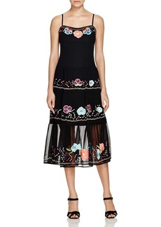 Nanette Lepore Floral Embroidered Dress - 100% Bloomingdale's Exclusive